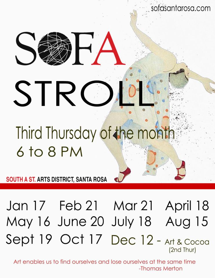 Sofa Stroll Poster
