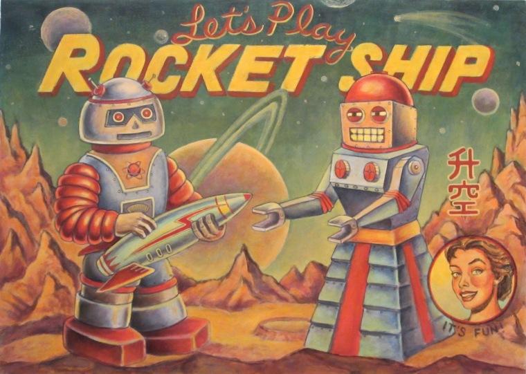Tony Spiers, Rocket Ship