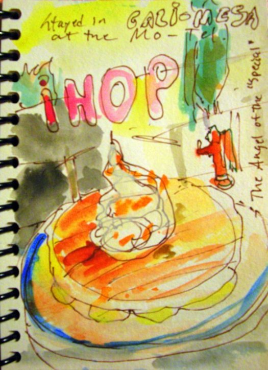 Angel of the Pancakes IHOP sketch
