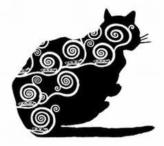 klimt style cat