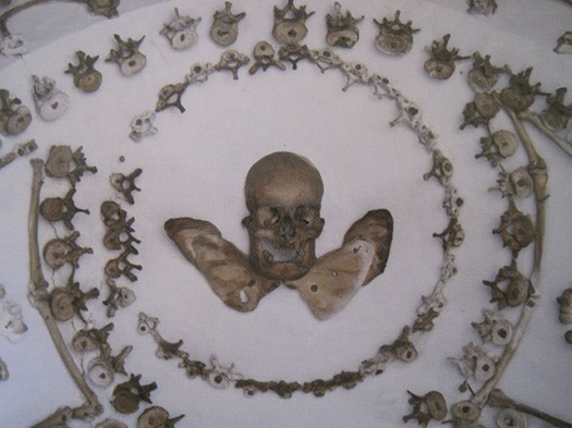 skull with wings