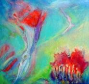 Point Reyes Dawn, 36 x 36, Terra Incognita series