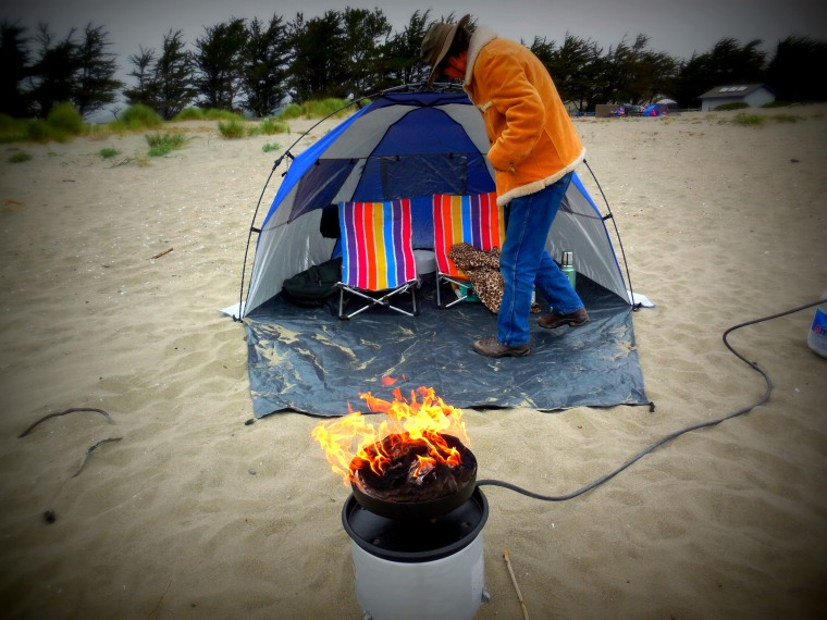 """My beloved """"campfire in a can"""""""