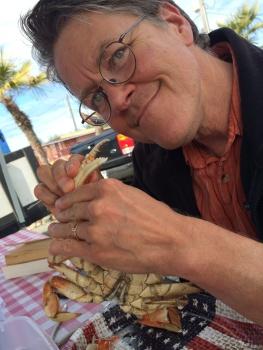 Scott and crab