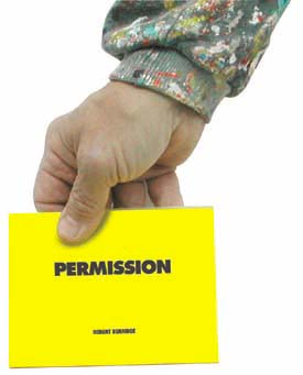 Bob Burridge's Permission Slip