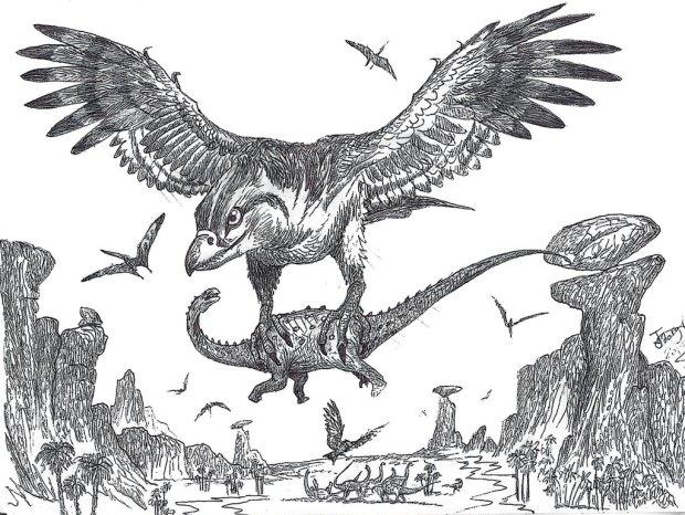Cretaceous Roc by Hodari Nundu