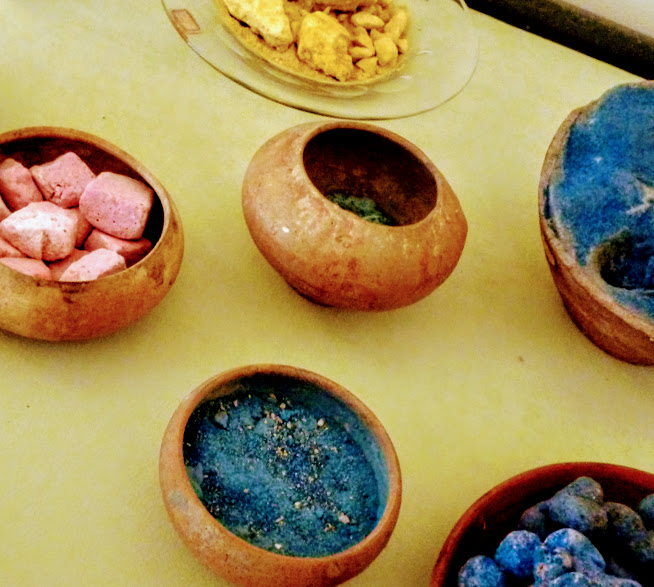 Naples Archeological Museum Pigment