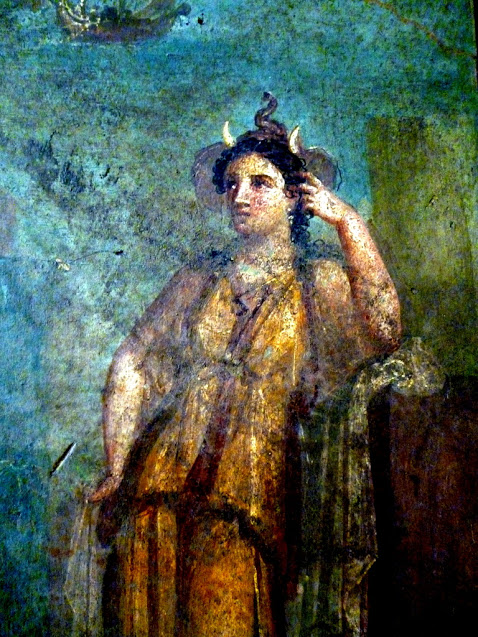 Girl with Horns, Naples Museum